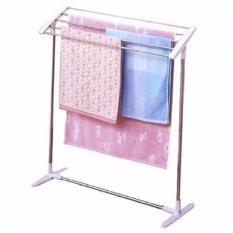 Rak Jemuran Handuk Mobile Towel Rack - Grey