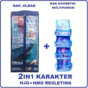 Pencarian Termurah Rak Jilbab (HJO), Rak Kosmetik/ Multifungsi (HMO) Karakter - 2IN1 harga penawaran - Hanya Rp36.990