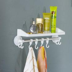 Rak Kamar Mandi Tempat Shampoo Handuk Odol Sabun / Rak Dapur Rak Multi Fungsi - Putih