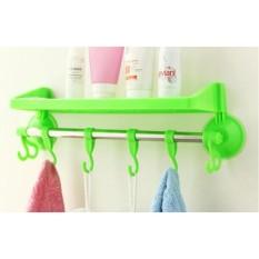 Rak kamar mandi tempat shampoo handuk odol sabun / Rak Multifungsi