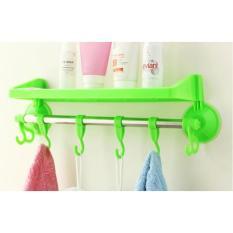 Rak kamar mandi tempat shampoo handuk odol sabun - Warna Random Lazpedia