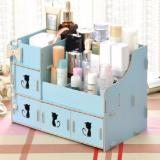 Rak Kosmetik Bahan Kayu Desktop Storage Kitty Cat Larisa Store Diskon 30