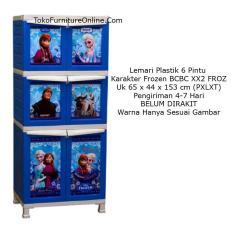Rak Lemari Pakaian Baju Buku Kerja Serbaguna Frozen BCBC XX2