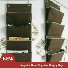 Rak Majalah Buku Koran - Magazine Organizer File Storage Rack Mail Wall Mount