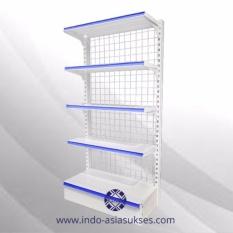 Spesifikasi Rak Minimarket Satu Sisi 150Cm 5 Leveling Wga3 1 5 4 1 Yang Bagus Dan Murah