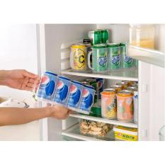 Rak Penyimpanan Minuman Kaleng Can Organizer Wadah Storage
