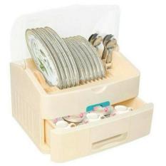 Harga Devmart Rak Piring Rovega Modys Dish Cabinet Plastik Food Grade Berkualitas 100 Anti Serangga Bakteri Drm 878 Asli Rovega