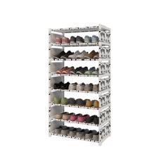 Spesifikasi Homedepot Rak Sepatu 8 Susun Hitam Putih Rak Sepatu 8 Tingkat Oem Terbaru