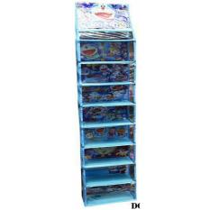 RAK SEPATU Gantung Hanging SHOES Organizer (HSO) DORAEMON Full SLETTING