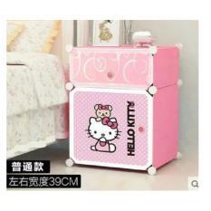 Rak Sepatu Karakter 2 Cube - Rak Multifungsi Hello Kitty