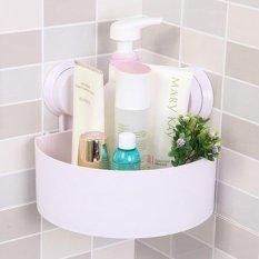 Spesifikasi Rak Sudut Siku Serba Guna Gantungan Kamar Mandi Toilet Kamar Tidur Dapur Wadah Tempat Mandi White Lengkap