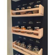 Harga Rak Tempat Bumbu Dapur Ikea Bekvam Kayu Birch Padat Spice Rack Multi Original