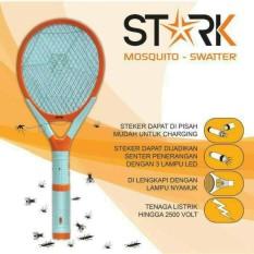 Toko Raket Nyamuk Stark 3In1 Bisa Charge Senter Lampu Indikator Stk 002 Indonesia