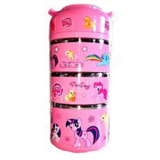 Jual Rantang Karakter 3 Susun 6675 3 Little Ponny Import