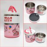 Jual Rantang Karakter Stainless 2 Susun Lunch Box Hello Kitty My Little Pony Random Branded Original
