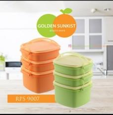 Jual Rantang Piknik Tepak Makan Piknik Golden Sunkist 3Susun Original