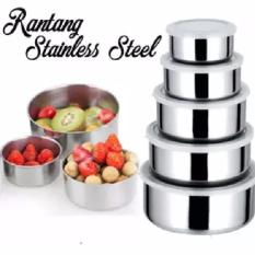 Spesifikasi Rantang Stainless Isi 5 Seri Tempat Makanan Sayur Lauk Dapur Yang Bagus Dan Murah