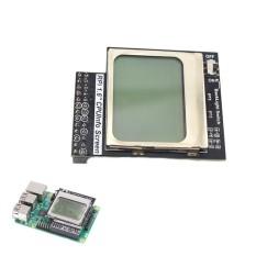 Raspberry Pie 3 Generasi B Tipe CPU Info 1.6 Inch Layar LCD 84X48 dengan Lampu Latar Switch Kompatibel dengan Pi2 -Intl