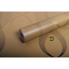 Toko Rdws 240 Wallpaper Sticker Premium Quality Motif Gelombang Emas Vertikal Yang Bisa Kredit