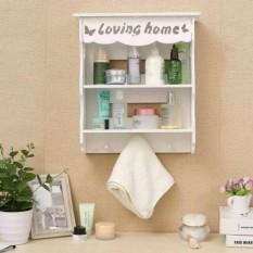 READY (HANYA 1 Kilo) Rak Dinding Loving Home rak kosmetik