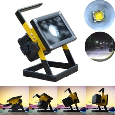 Beli Rechargeable 30 W 2400Lm T6 Led Floodlight Work Light Lampu Camping Caravan Intl Online
