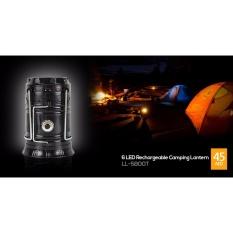 Rechargeable Camping Lantern Lampu Senter Kemping Berkemah LED Powerbank Sinar Surya/Solar Tenaga Matahari