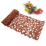 Rectangle Shape Felt Tablecloth Runner Placemats Table Mats Light Coffee Intl Asli