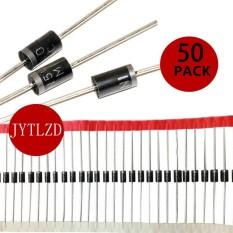 Rectifier Diode, 1N5400 3A 50 V Silikon Pemulihan Standar MIC Axial Rectifier Dioda, Paket 50, -Intl