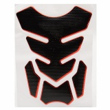 Jual Red Motorcycle Gas 3D Tank Pad Protector Decal Sticker Karet Universal Intl Not Specified