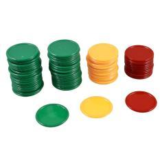 Merah Kuning Hijau Berbentuk Bulat Mini Chip Poker Beruntung Properti Permainan 69 Pcs-Intl By Sunnny2015.