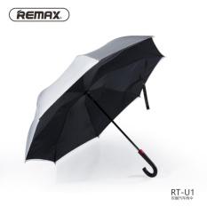 Beli Remax Payung Terbalik Rt U1 Black Silver Remax Dengan Harga Terjangkau