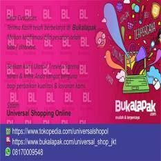 Reminder Bukalapak / Kartu Nama Online Shop / Thanks Card Olshop
