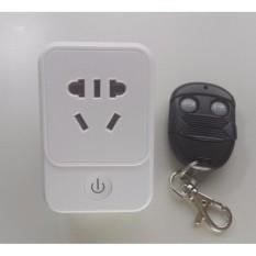Remote Control Soket Stopkontak Saklar Set 1 Wireless Steker dengan Remote Kontrol AU/EU Steker Hemat Energi Elektronik