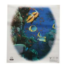 Kursi Toilet Yang Dapat Dilepas Stiker Wallpaper Dinding Stiker Gaya Vinil Seni Dekorasi Kamar Mandi Underwater World Internasional Original
