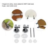 Diskon Produk Pengganti Kursi Toilet Engsel Engsel Chrome Dengan Alat Kelengkapan Kamar Mandi Hotel Set Intl