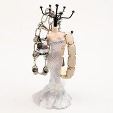 Resin + Logam Kelas Atas Gaun Putri Perhiasan Model Rak Bingkai Perhiasan Kalung Gantungan Rak Earring Rak Shelf Rumah Sehari-hari internasional