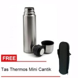 Promo Retail Station Termos Vacuum Flask Termos Air Panas Dingin 750Ml Stainless Steel