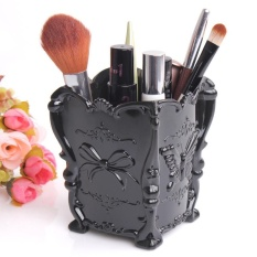 Spesifikasi Retro Acrylic Makeup Kotak Penyimpanan Kosmetik Case Brush Pen Pensil Pemegang Bk Intl Paling Bagus