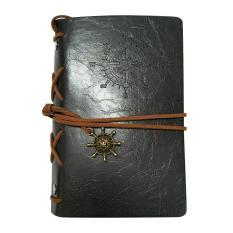 Spesifikasi Retro Gaya Bajak Laut Buku Diary Spiral Peta Mencatat Abu Abu Beserta Harganya