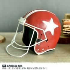 Retro Teh Pakaian Etalase Toko Dekoratif Props Bar Kedai Kopi Industri Angin RETRO Model Ornamen-Intl