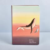 Ulasan Retro Yang Dilukis Dengan Tangan Buku Halaman Warna Diary