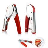 Spesifikasi Rg59 Rg6 Coaxial Plier Jaringan Kabel Stripper Kawat Crimper Stainless Steel Yang Bagus Dan Murah