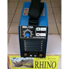 Toko Rhino Mesin Trafo Las Inverter 900Watt Mma 120A Black Rhino Jawa Barat