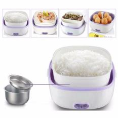 Rice Cooker Mini 2 Susun kapasitas 1 L - Penanak Nasi Mini - Egg Boiler