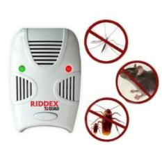 Review Terbaik Riddex Quad Alat Pengusir Tikus Nyamuk Kecoa Riddex Quad Rex Mart