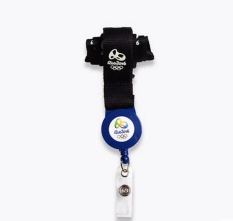 Olimpiade Rio 2016 Perlengkapan Kantor Emblem Pita Pita Lanyard-Intl