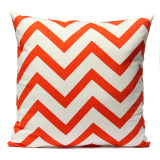 Toko Ripple Chevron Zig Wave Linen Cotton Cushion Cover Home Decor Throw Pillow Case Termurah Hong Kong Sar Tiongkok