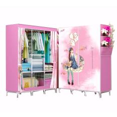 Risen - PINKLOVE lemari pakaian ukuran besar JUMBO