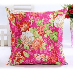 ROJEY-Bunga Cantik Sofa Bed Home Decor Bantal Case Cushion Cover HOT-Intl