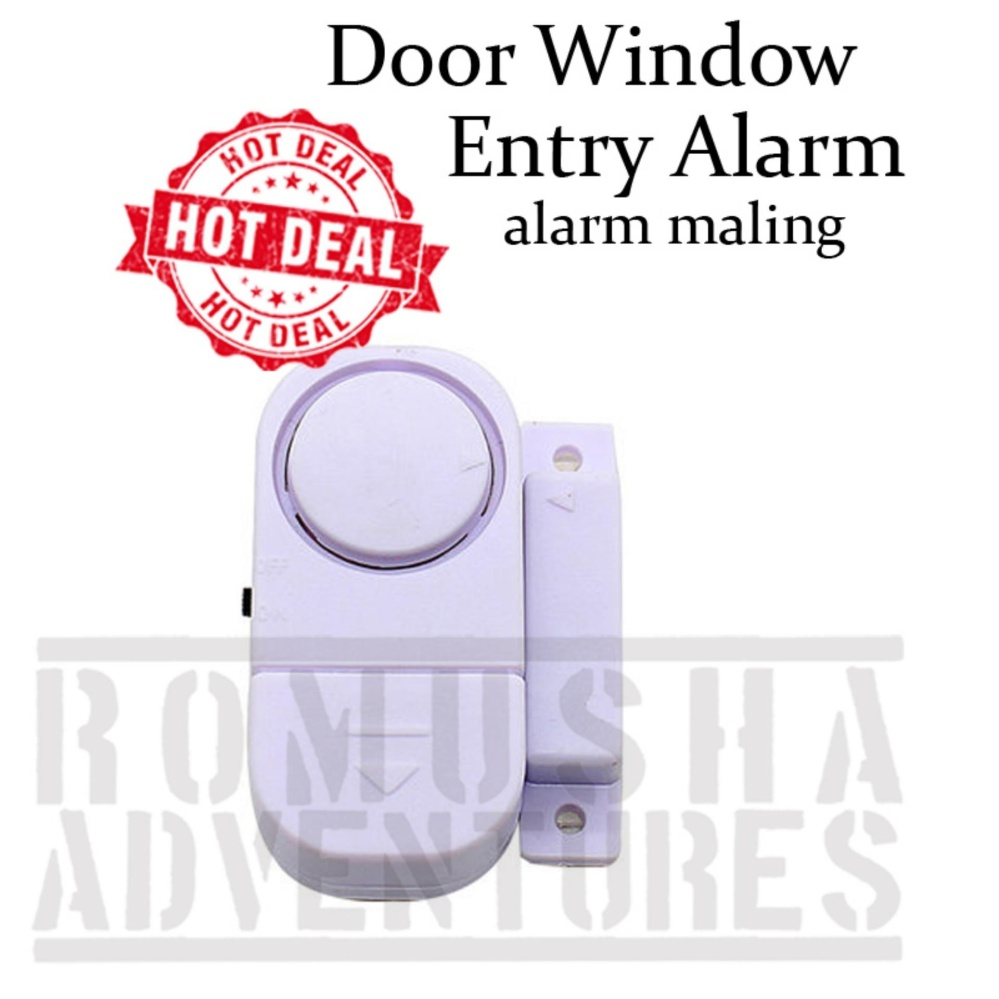 Pencarian Termurah Romusha Gembok Alarm Jendela Pintu Anti Maling 9805 90dB harga penawaran - Hanya Rp9.864
